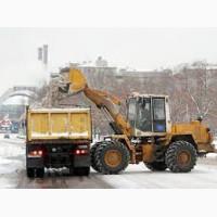 Вывоз снега Киев Уборка снега