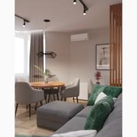 Дизайн интерьера квартиры в центре Киева
