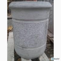Мусорник бетонный, урна из бетона, урны бетонные