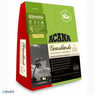 Корм для собак Acana Grasslands Dog беззерновой, с ягненком