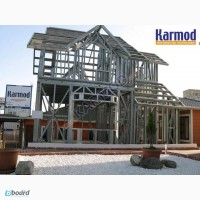 Каркасные дома Karmod, проекты домов в Киеве, Украина