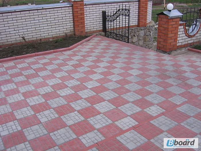 Фото к объявлению: тротуарная плитка, укладка тротуарной плитки - Bboard.Kiev