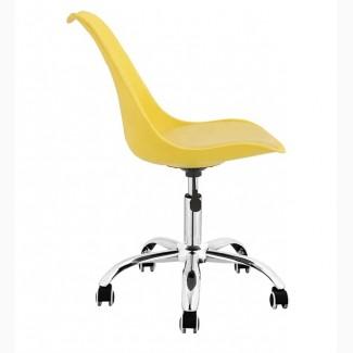 Кресло Астер, цвет белый, желтый, серый