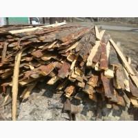 Отходы деревообработки, обрезки, обапол, горбыль - для отопления