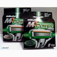 Gilleette mach3 power 8 лезвий