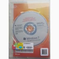 Лицензионная Microsoft Windows 7Professional 32-bit, RUS, полная OEM-версия(FQC-08296)
