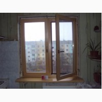 Окна деревянные - цены ниже