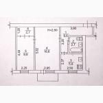 Уютная двухкомнатная квартира.Общая площадь 45 м.кв., жилая 27, и кух