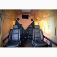 Переоборудование переделка салона микроавтобуса буса, переобладнання авто
