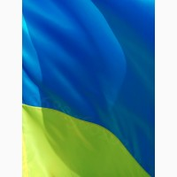 Флаг Украины, Прапор України 140х90 см атлас
