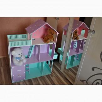 Кукольный домик ЭКО Домик для кукол Монстер Хай Барби Лол