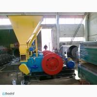 Пресс для производства топливных брикетов