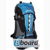Рюкзак туристический голубой ELENFANCY ADVENTURE 65L