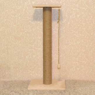 Когтеточка с лежанкой высотой 90 см