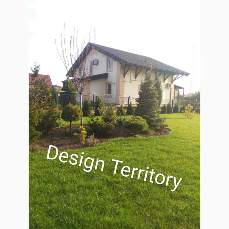 Фото 3. Ландшафтный дизайн