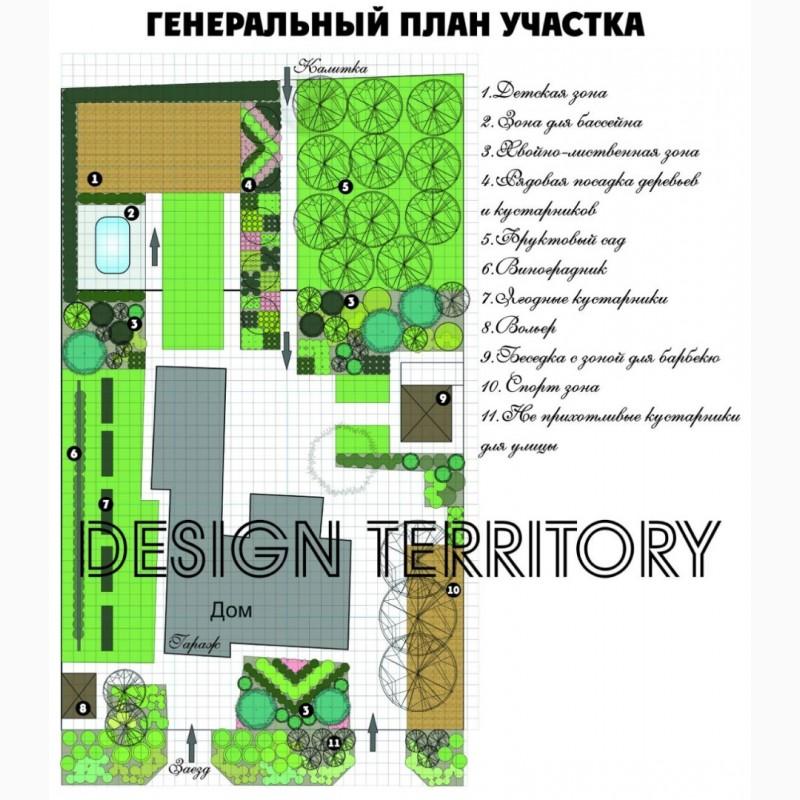 Фото 8. Ландшафтный дизайн