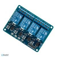4X модуль реле c опторазвязкой Arduino В НАЛИЧИИ!