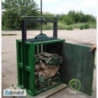 Пресс механический ПДО-03МХ для втор сырья (макулатуры, картона, бумаги, ПЭТ бутылки