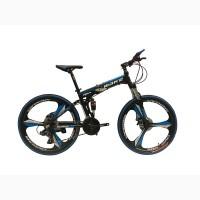 Складной велосипед на литых дисках MAKE BIKE 26 / рама 17