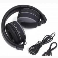 Блютуз наушники Bluetooth Stereo (Серый цвет)