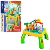 Детский развивающий конструктор зоопарк 3688А 55 деталей