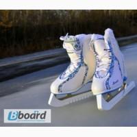 Катание на коньках на базе отдыха Орельский Двор