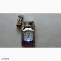 Подарочная зажигалка с часами