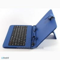 Чехол с клавиатурой Keyboard 7 blue micro
