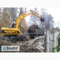 Вывоз строительного мусора, погрузка мусора, услуги грузчиков