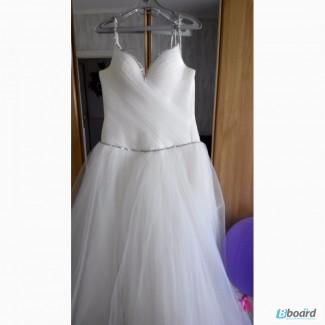 Продам свадебное платье! + перчатки и бижутерия в подарок
