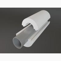 Утепление труб, скорлупа из пенопласта, теплоизоляция труб