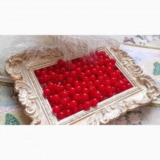 Жемчужные бусины (много цветов), 100 шт