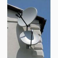 Установка, ремонт Спутниковых телевидения, Прошивка тюнеров