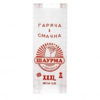Пакет бумажный Шаурма 220*90*50 (1уп/100шт)