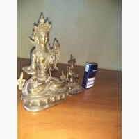 Продам бронзовую статуэтку Будды