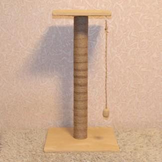 Когтеточка с лежанкой высотой 75 см
