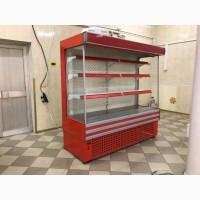 Холодильная горка Айстермо ГПХ 2 б/у, холодильный регал б/у