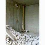 Демонтаж сантехкабин, стен, бетона.Резка проемов, штроб в Харькове