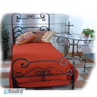 Кованая односпальная кровать «Эми» ПОЛ10