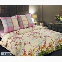 Магазин тканей для постельного белья, Поплин Утренний сад