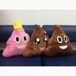 Подушка emoji какашка подарок Emoji Эмоджи