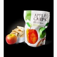 Яблочные чипсы Sergio 55г