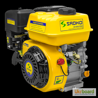 Двигатель бензиновый Sadko (Садко) GE-200 PRO (ФИЛЬТР В МАСЛЕ). Оригинал. Гарантия