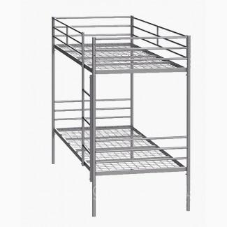 Кровать металлическая двуярусная Синд