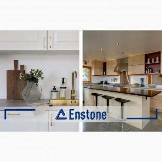 Столешница для кухни из искусственного камня. Кухонная столешница на заказ акриловая