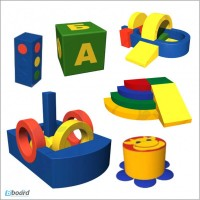 Мягкие детские модули (производство)