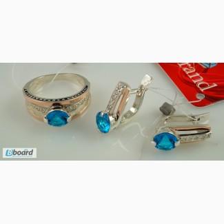Ювелирные изделия из серебра с золотыми пластинами опт