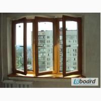 Окно деревянное 3-х створчатое в Хрущевку за 5060 грн