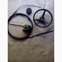 Продам тросс рулевого управления М 58 и редуктор к нему Т 67 (до 55 л.с.) (Ultraflex) б/у