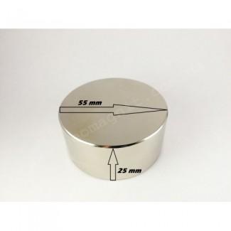 Неодимовый магнит - шайба D55*H25